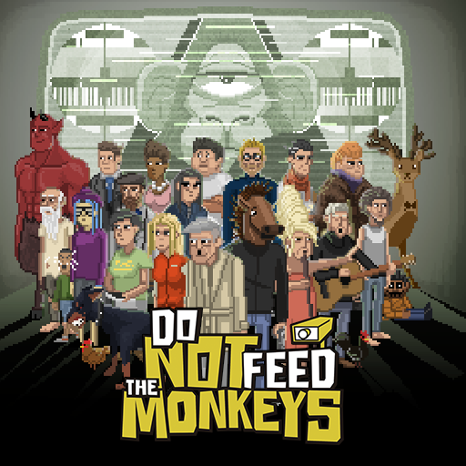 Do Not Feed The Monkeys - logo