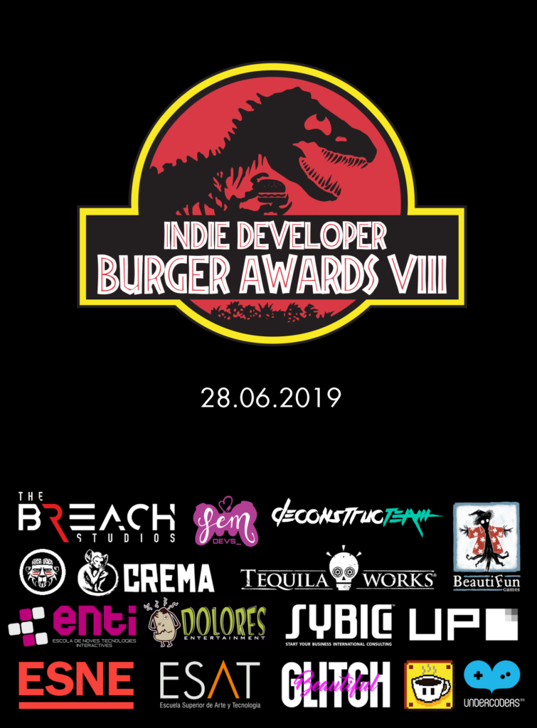 Indie Developer Burger Awards 2019