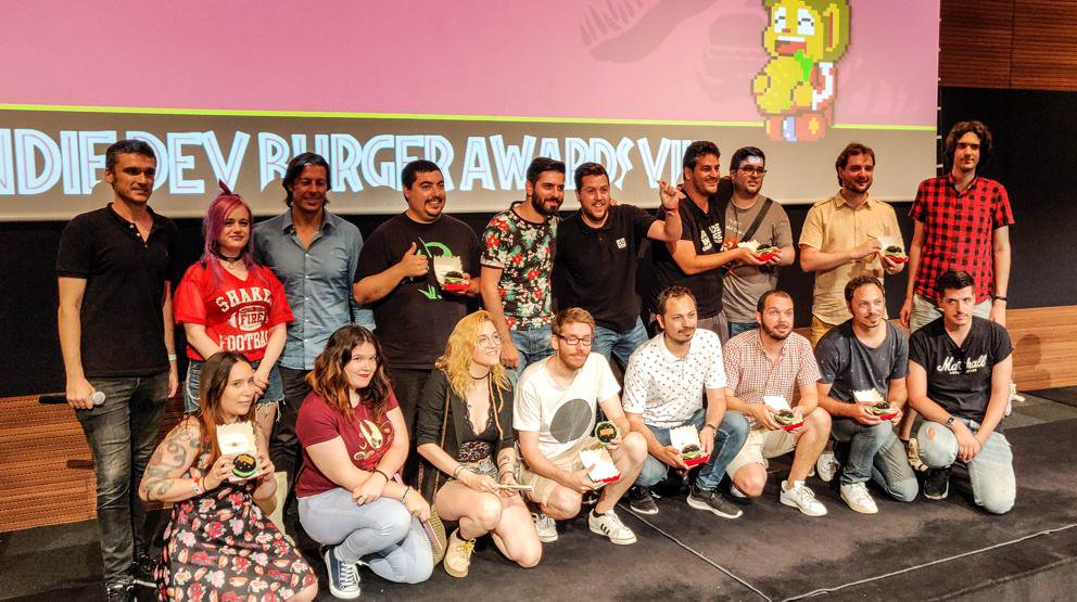 indie developer burger awards