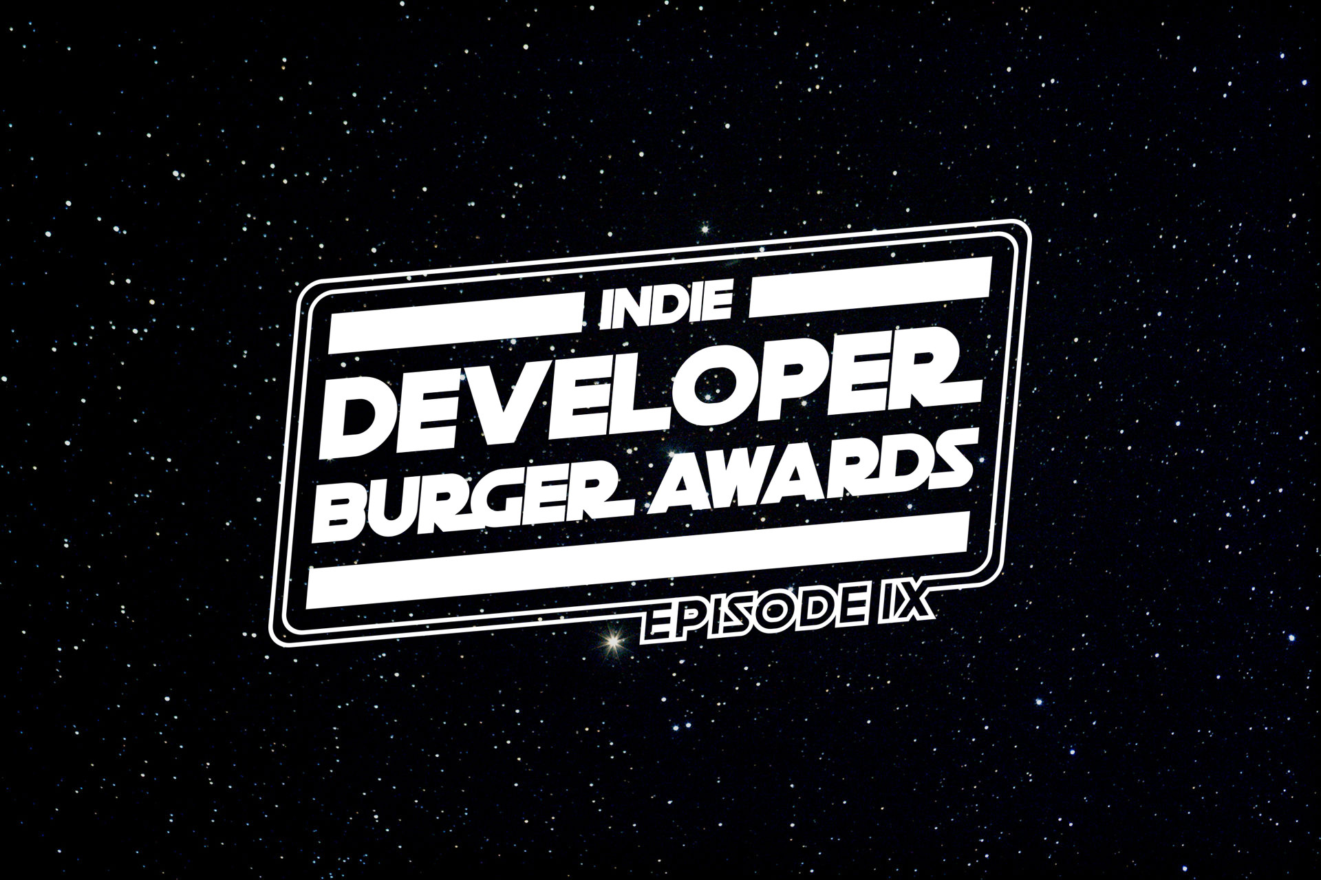 Indie Developer Burger Awards 2020